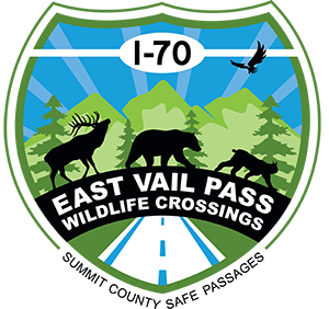 I70 East Vail Pass Wildlife Crossings logo