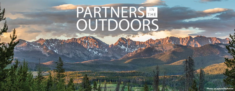 Partners in the Outdoors banner